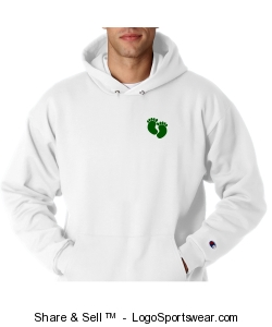 "Adult ""Be Elite"" hoodie in white Design Zoom"